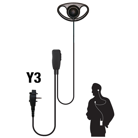 Code Red Quest Single Wire Lapel Microphone w/ D-Ring