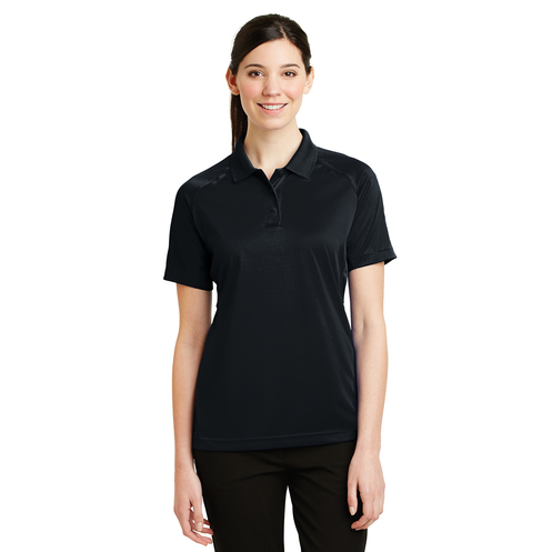 CornerStone Select Snag-Proof Ladies Tactical Short-Sleeve Polo