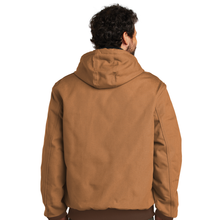 Carhartt Quilted-Flannel Lined Duck Active Jacket