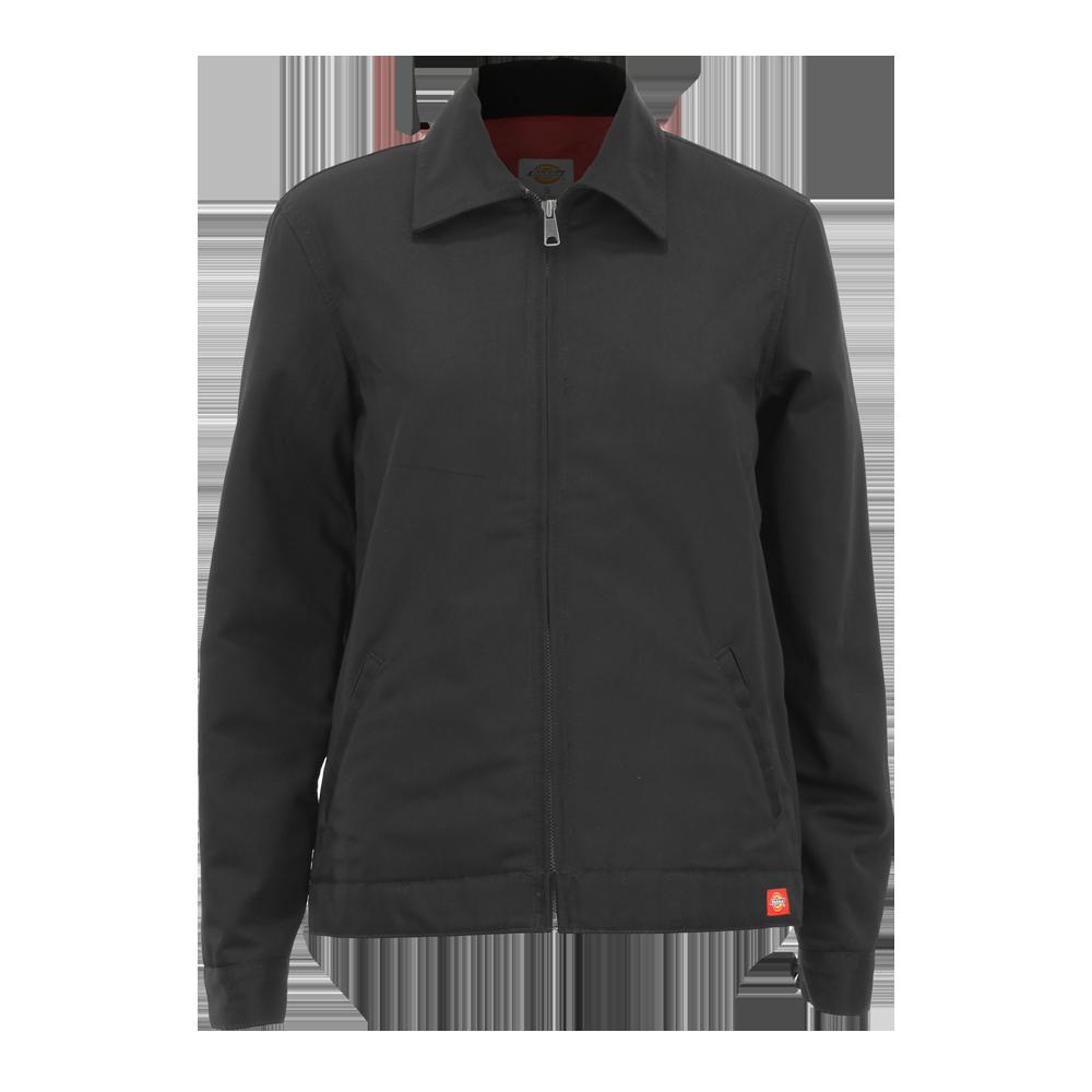 Dickies Women's Eisenhower Jacket, Lined, Black