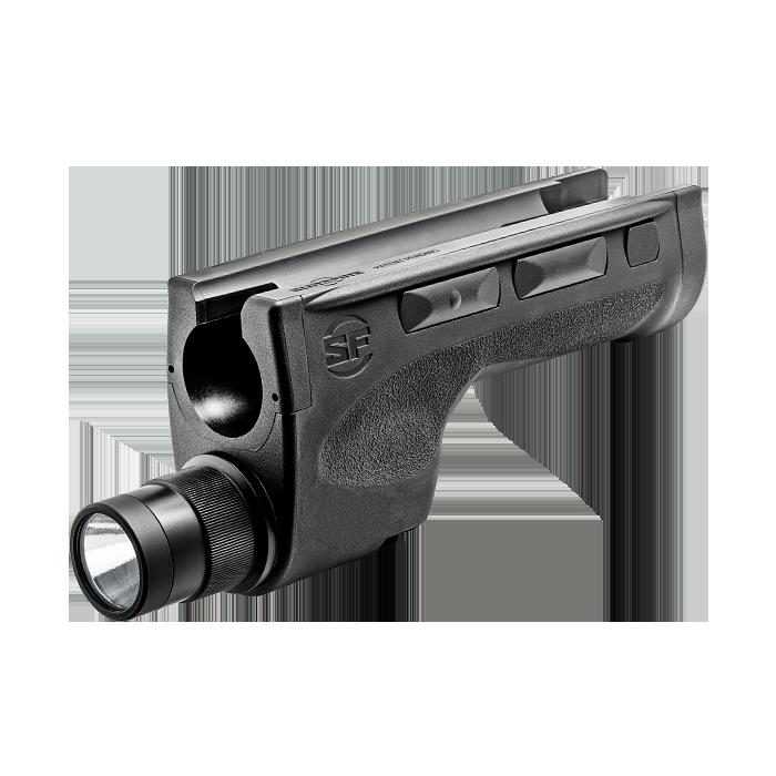 SureFire DSF Dedicated Shotgun Forend LED WeaponLight, 2 SF123A Batteries, 600 Lumens, 9.2� Long