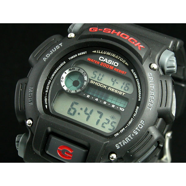 Casio G-Shock Digital Watch, Black