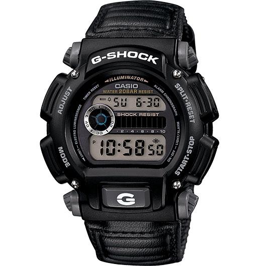 Casio G-Shock Classic Digital Watch Black Nylon Band