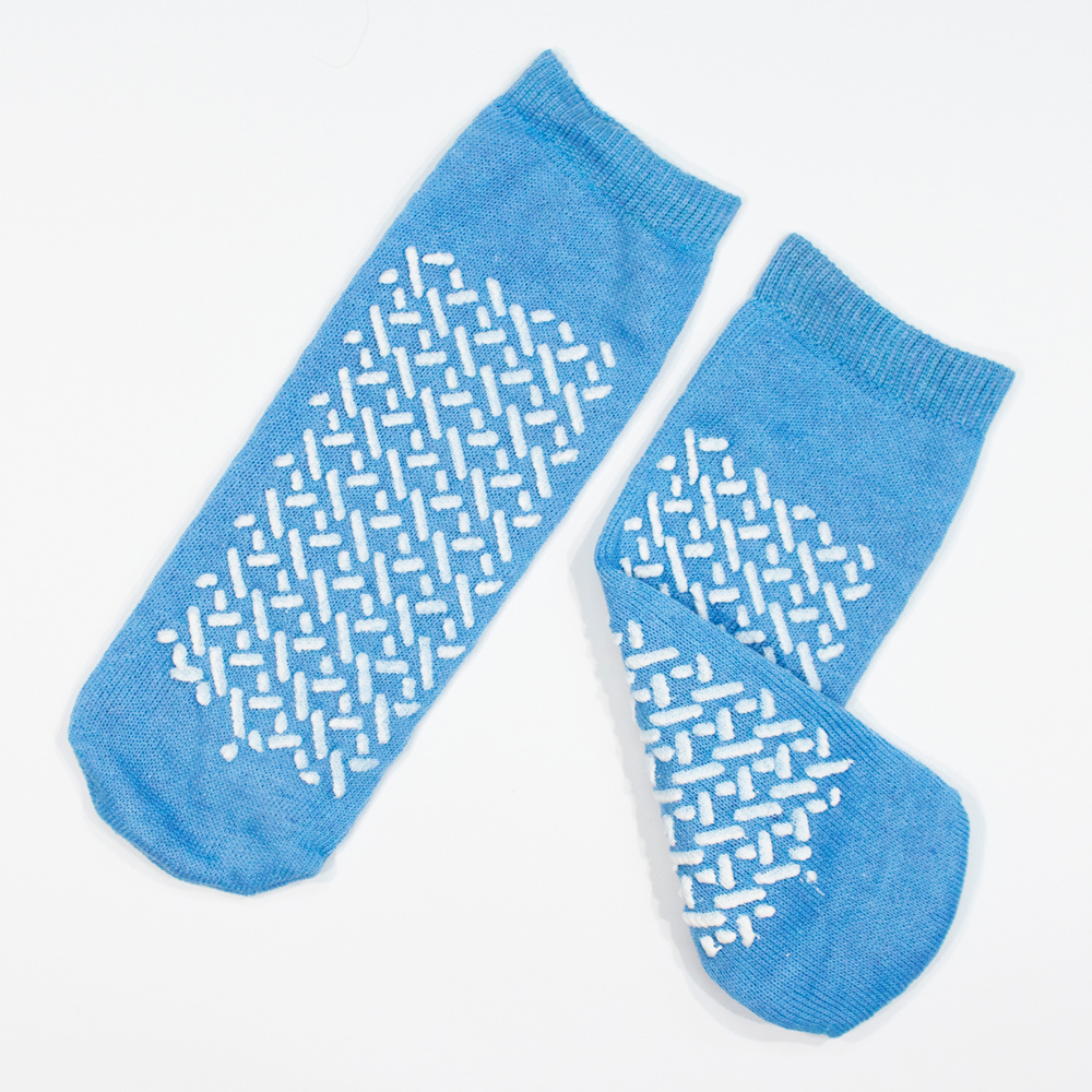 Dynarex Double Sided Soft Sole Slipper Socks