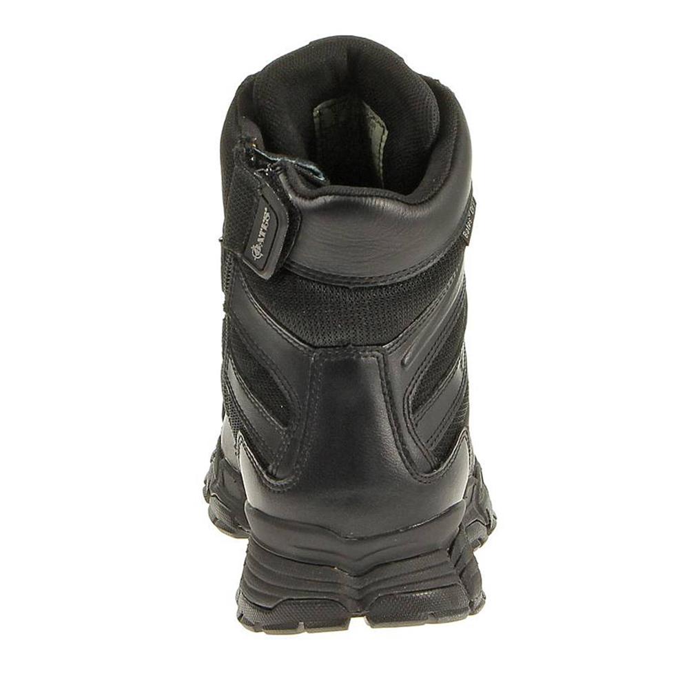 """Bates Men's 8"""" Velocitor Zip Waterproof Boot, Black"""