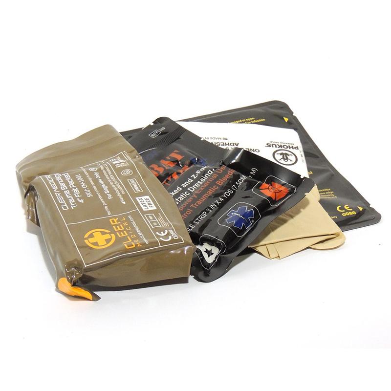 Eleven10 Penetrating Trauma Aid Kit, Small (PTAKS), Basic Configuration