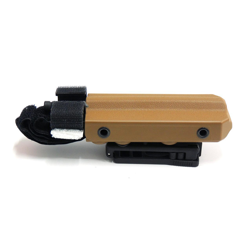 Eleven10 Slick Front Rigid TQ Case for CAT, w/ Tek-Lok Belt Attachment