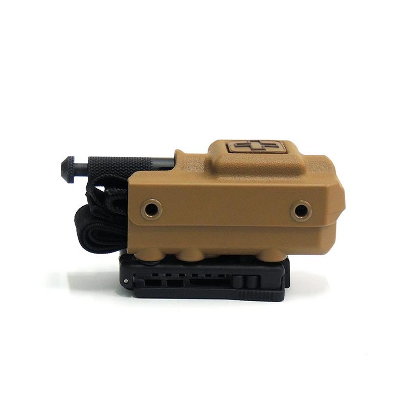 Eleven10 Rigid TQ Case for SOF®TT/SOF®TT-W, w/ Tek-Lok Belt Attachment