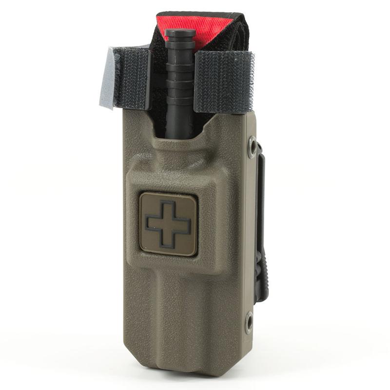Eleven10 Rigid TQ Case for C-A-T Gen 7, w/ MOLLE Malice Clip