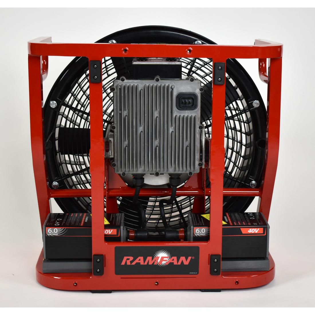 RAMFAN EX50Li Battery Powered Ventilator 2nd Generation