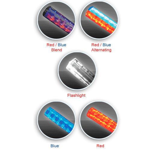 EMI Flashback Five LED Light Baton, LED, 4 AA Batteries, 13.5� Long