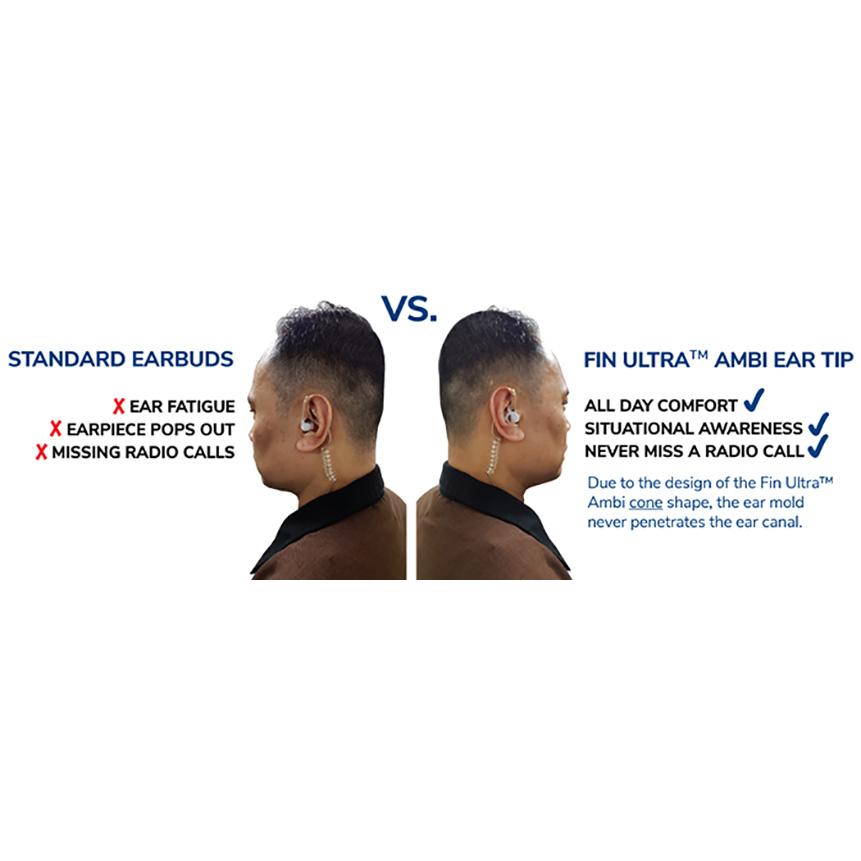 Earphone Connection Fin Ultra Ambidextrous Ear Tips