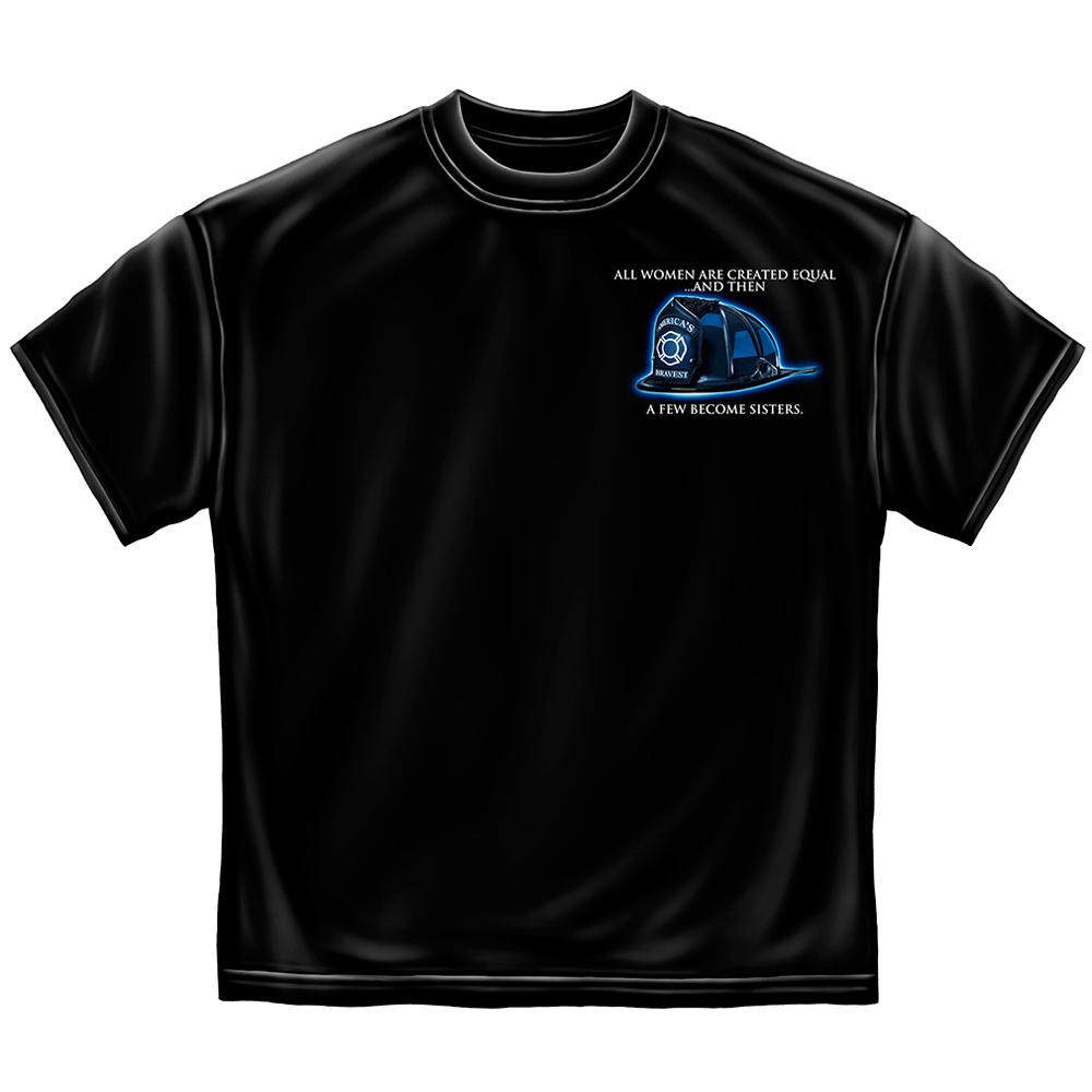 Erazor Bits Firefighter Sisterhood T-shirt