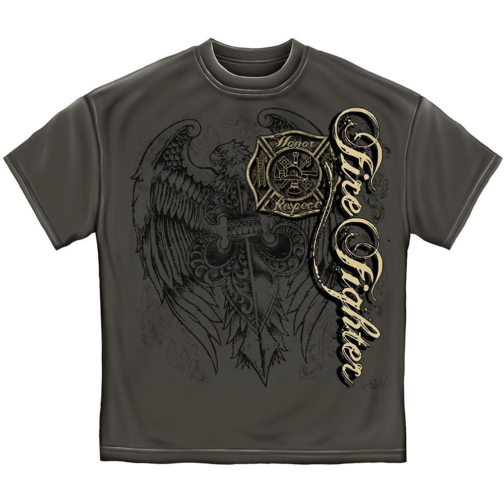 Elite Breed Firefighter Eagle T-Shirt