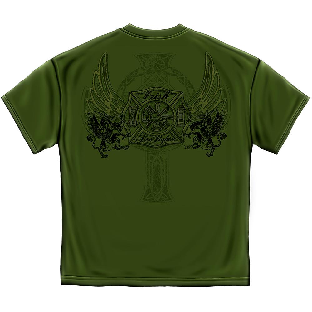 Elite Breed Irish Firefighter T-Shirt