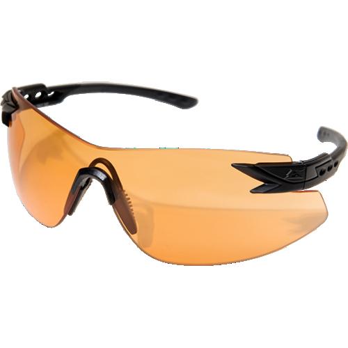Edge Tactical Notch Standard Eyewear, Matte Black Frame