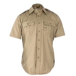 Propper Tactical Dress Shirt, Short Sleeve, Battle Rip 65/35 Poly/Cotton Ripstop