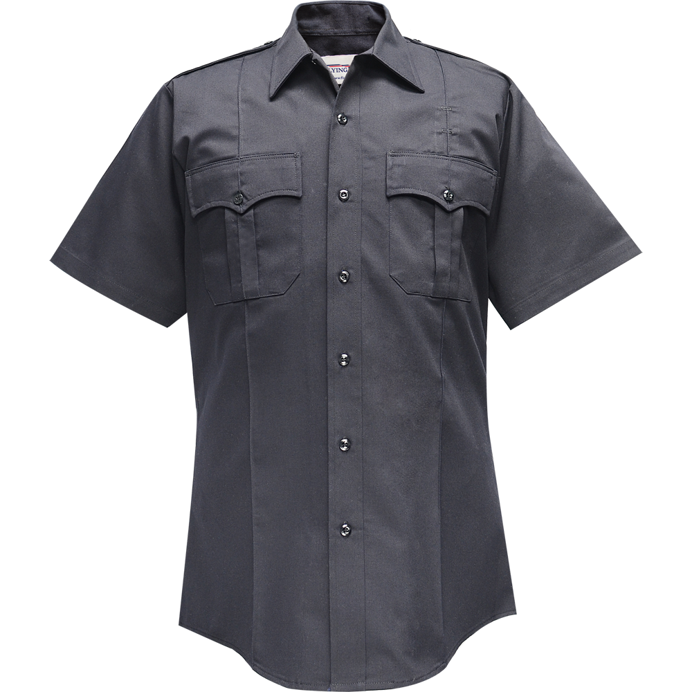 Flying Cross Valor Men's Short Sleeve Shirt, 65% Polyester/35% Cotton