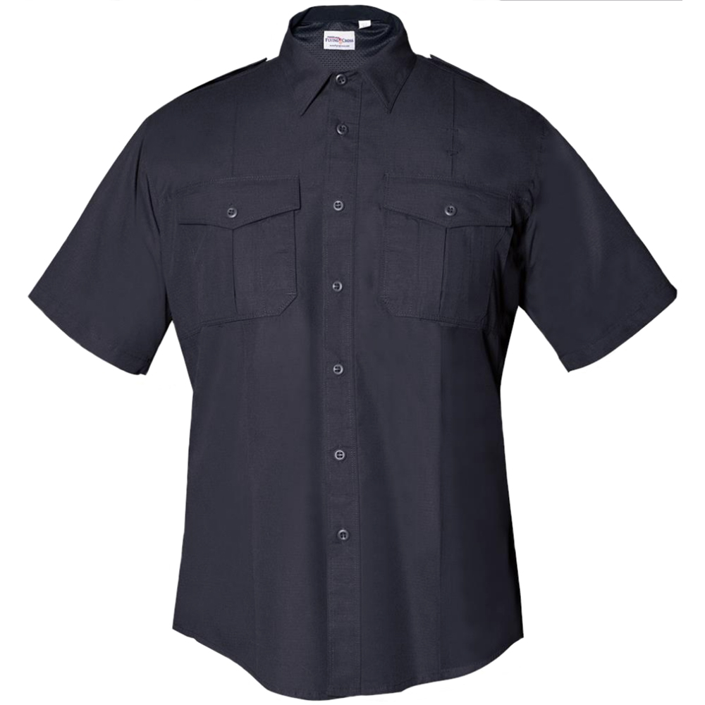 Flying Cross FX Men's Class B Short Sleeve Shirt, Navy