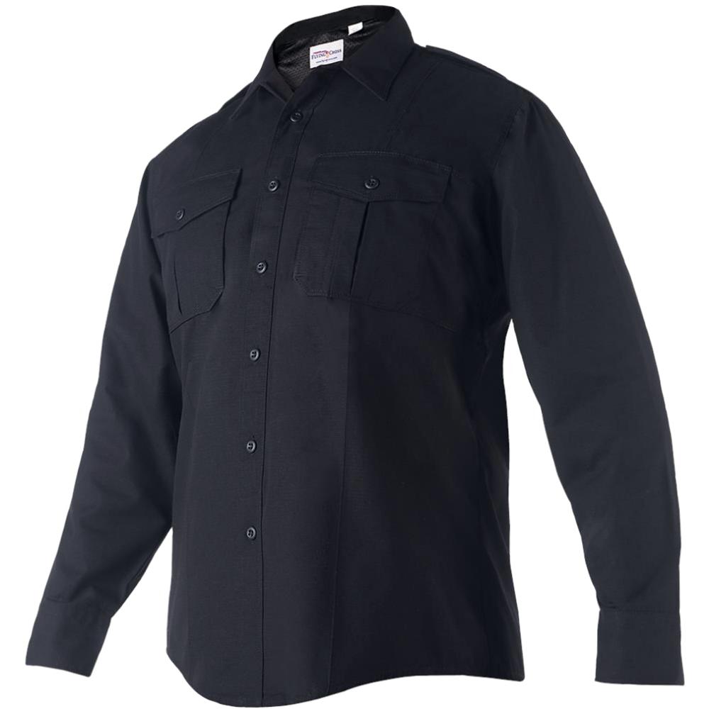 Flying Cross FX Men's Class B Long Sleeve Shirt, Navy