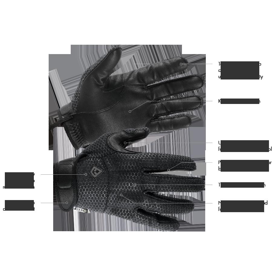 First Tactical Slash & Flash Hard Knuckle Glove