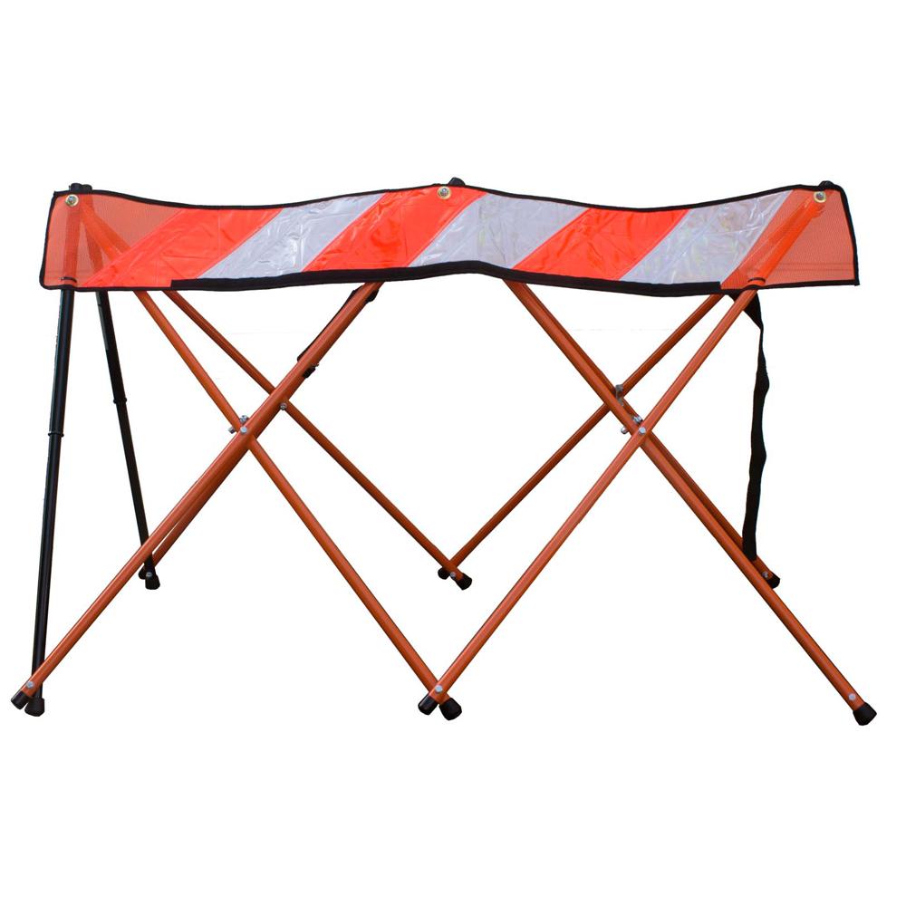 Flex-Safe Hi-Vis Collapsible Barricade