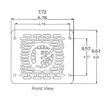 Federal Signal BP200, 200 watt speakers