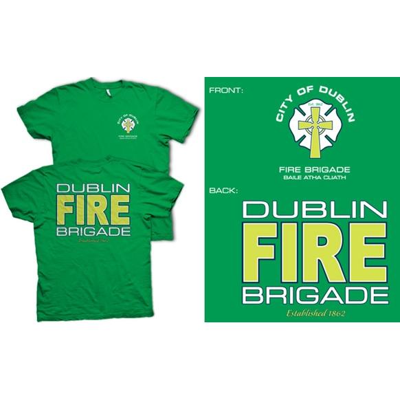 Fisher Sportswear Dublin Fire Brigade Short-Sleeve T-Shirt