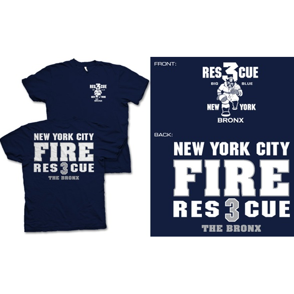 Fisher Sportswear NYC Rescue 3 The Bronx Short-Sleeve T-Shirt