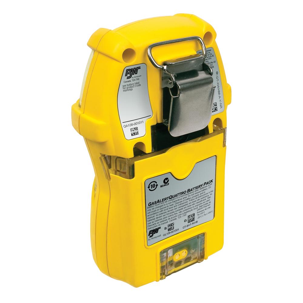 BW Technologies GasAlertQuattro, Rechargeable or Alkaline