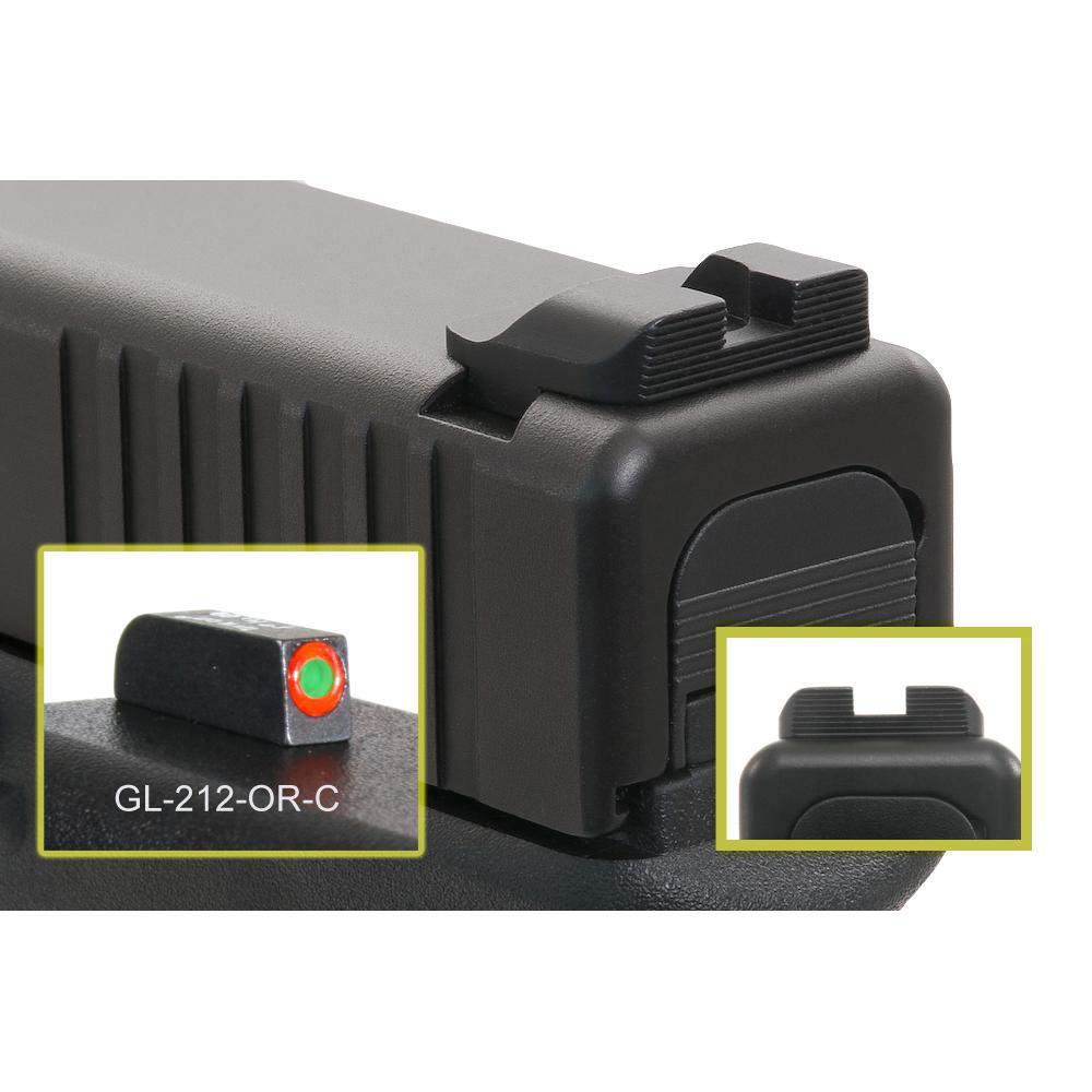 AmeriGlo Hack Style Sights for Glock Pistols