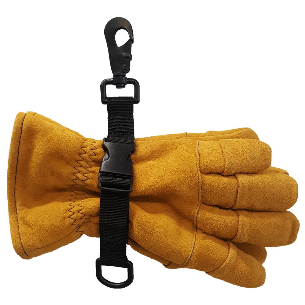 TheFireStore Glove Leash II with Quick Pull D-Ring