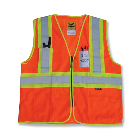 Game Workwear D.O.T. Mesh Vest with Pockets