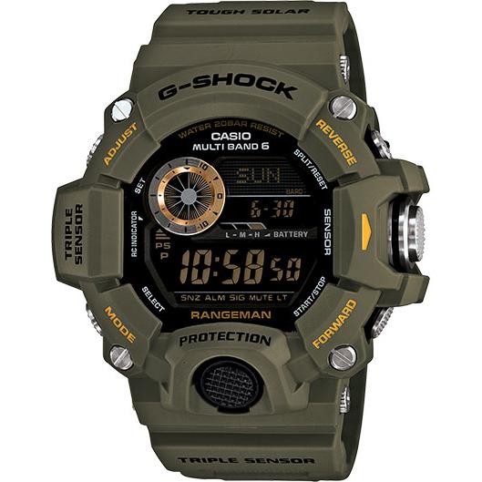 Casio Rangeman Solar G-Shock Watch