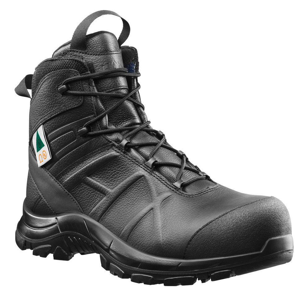 Haix Black Eagle Safety 55 Women's Mid Side-Zip Boot