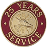 Hook-Fast 25 Years of Service Pin