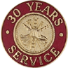 Hook-Fast 30 Years of Service Pin