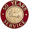 Hook-Fast 50 Years of Service Pin