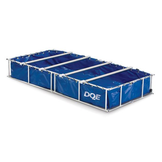 DQE Easy Roller Non-Ambulatory Decon Shower System