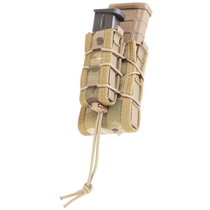 HSGI Molle Double Decker TACO Modular  Single Rifle & Pistol Mag Pouch