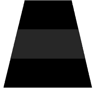 TheFireStore Exclusive Black Reflective Triple Trim Tetrahedron