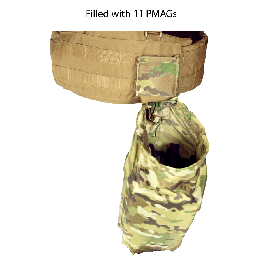 Blue Force Gear Ten-Speed Ultra-Light Dump Pouch with Helium Whisper Attachment System