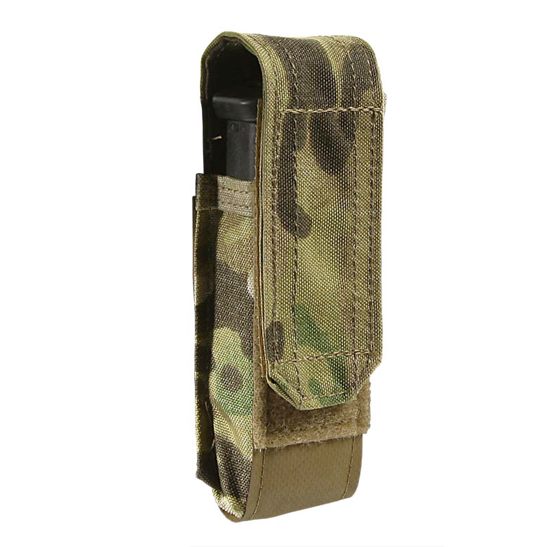 Blue Force Gear Helium Whisper Single Pistol Mag Pouch with Flap
