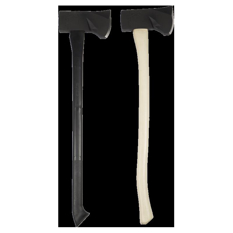 Iron Fox Axes Black Flathead Axe