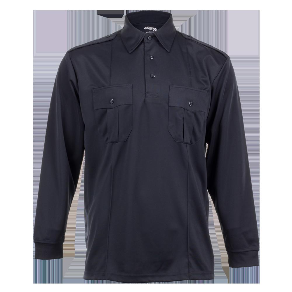 Elbeco Ufx Uniform Polo, Long-Sleeve