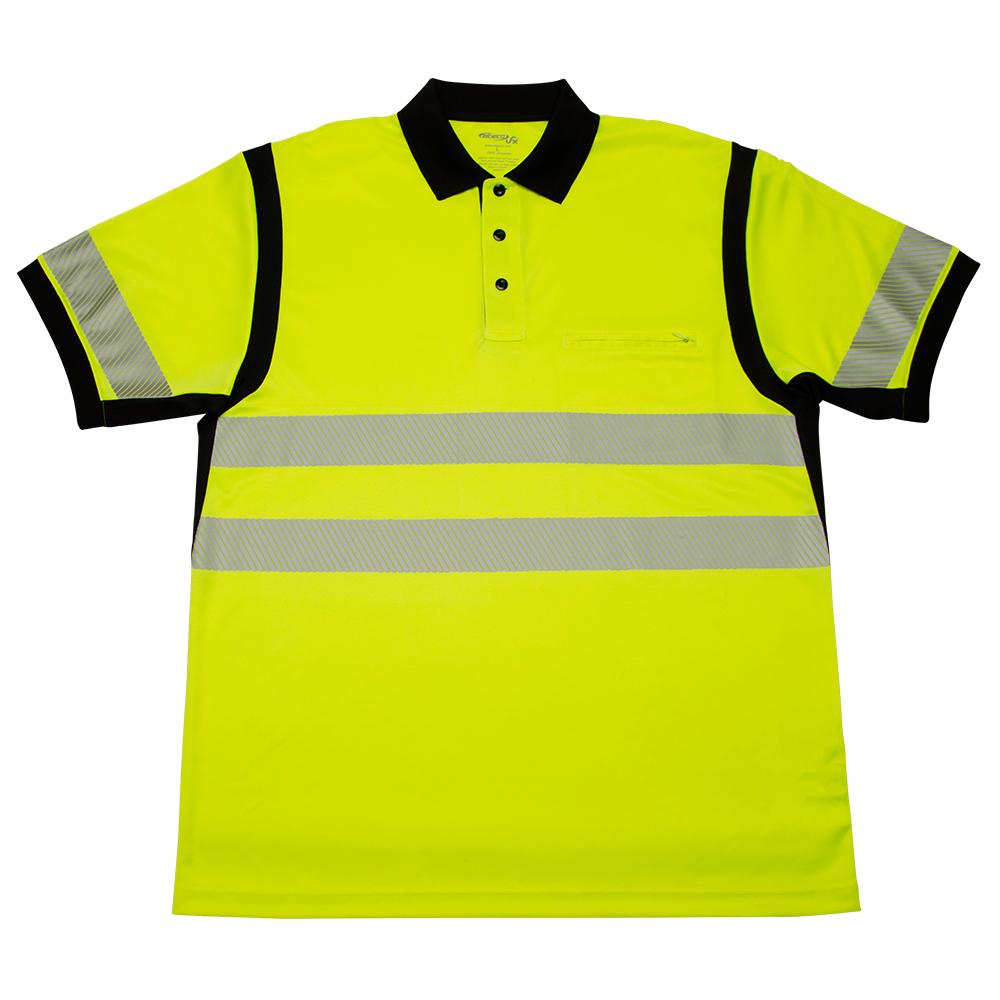 Elbeco Ufx Ultra-Light Tactical Short-Sleeve Hi-Viz Polo Shirt