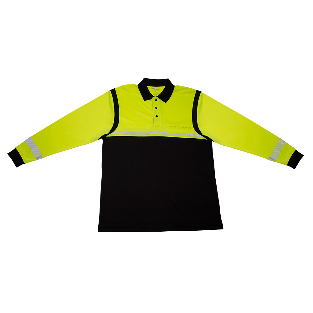 Elbeco Ufx Ultra-Light Tactical Long-Sleeve Hi-Viz Polo Shirt