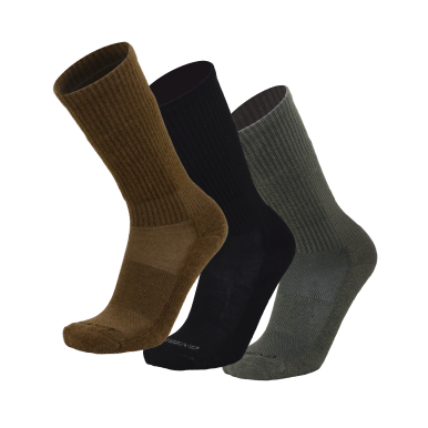 LEGEND® All Weather Unisex Compression Merino Wool Tactical Boot Socks