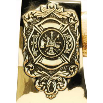 Personalized Maltese Cross & Scramble Bronze Axe