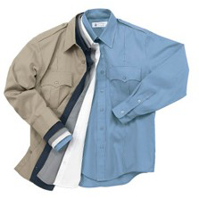 Liberty Uniforms Long Sleeve Poly/Cotton Shirt